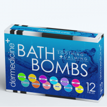 12-Piece Bath Bombs