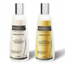 Dermedicine's Moisture Rich Argan Oil Hair Loss Prevention Set